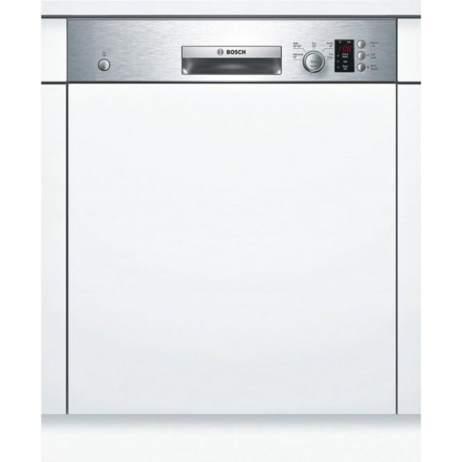 Bosch SMI50C15GB 60cm Semi Integrated Dishwasher, 12 Place Settings