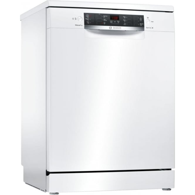 Bosch SMS46IW02G A++ Energy Rating ActiveWater 60cm Freestanding Dishwasher, White, 13 Place Setting