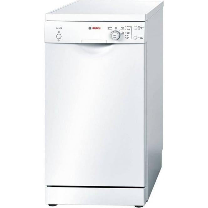 Bosch SPS40E32GB Slimline 45cm, A+ Freestanding Dishwasher, White