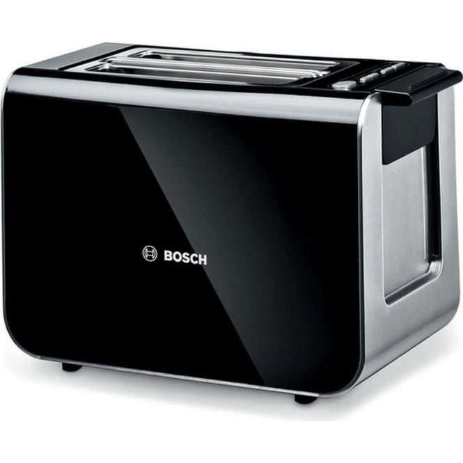 Bosch Styline 2 Slice Toaster, Black