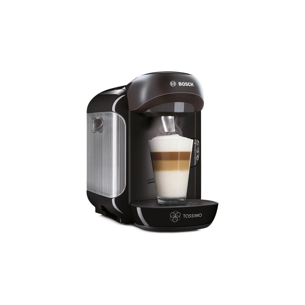 Bosch TAS1252GB Tassimo Vivy Capsule Coffee Machine, Black - Bosch from Powerhouse.je UK