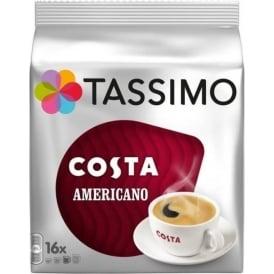Tassimo Costa Americano, 16pk