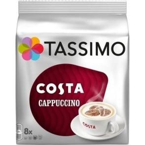 Tassimo Costa Cappuccino, 8pk