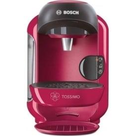 Tassimo Vivy 2 TAS1251GB Coffee Machine, Pink
