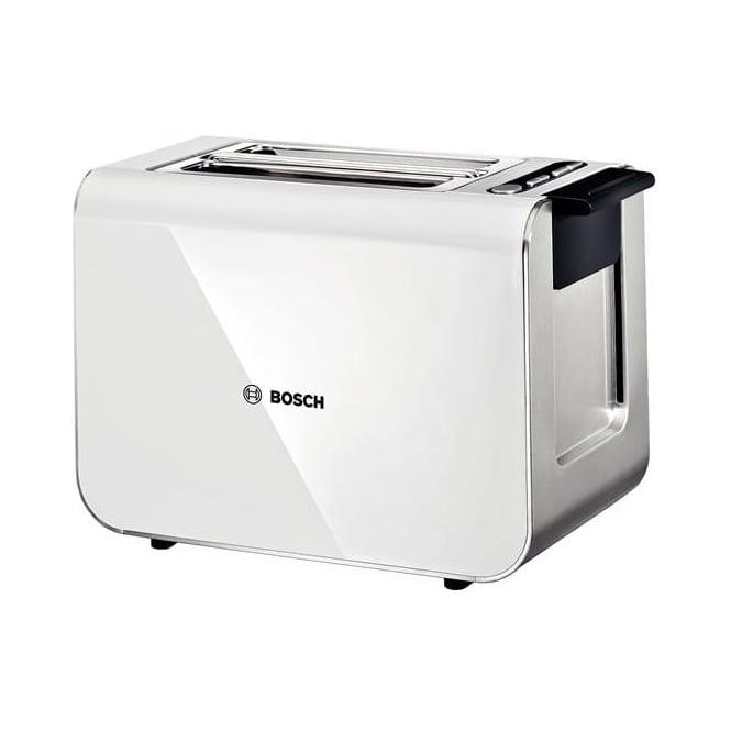 Bosch TAT8611GB Styline Toaster, White