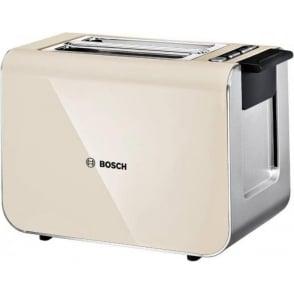 TAT8617GB Styline 2 Slice Toaster, Cream