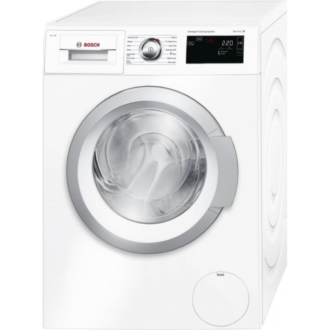 Bosch WAT28660GB Series 6 i-Dos 8kg, 1400rpm, A+++ Washing Machine, White