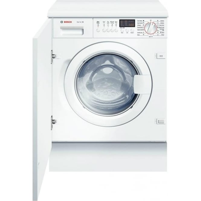 Bosch WIS28441GB Logixx 7kg, 1400rpm, Fully Integrated Washing Machine, White
