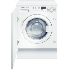 WIS28441GB Logixx 7kg, 1400rpm, Fully Integrated Washing Machine, White