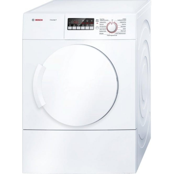 Bosch WTA74200GB 7kg, C Vented Tumble Dryer, White
