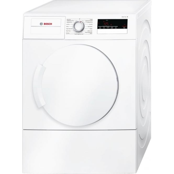 Bosch WTA79200GB 7kg Load, C Energy Rating Vented Tumble Dryer, White