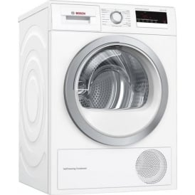 WTM85230GB 8kg, A++ Heat Pump Condenser Tumble Dryer, White