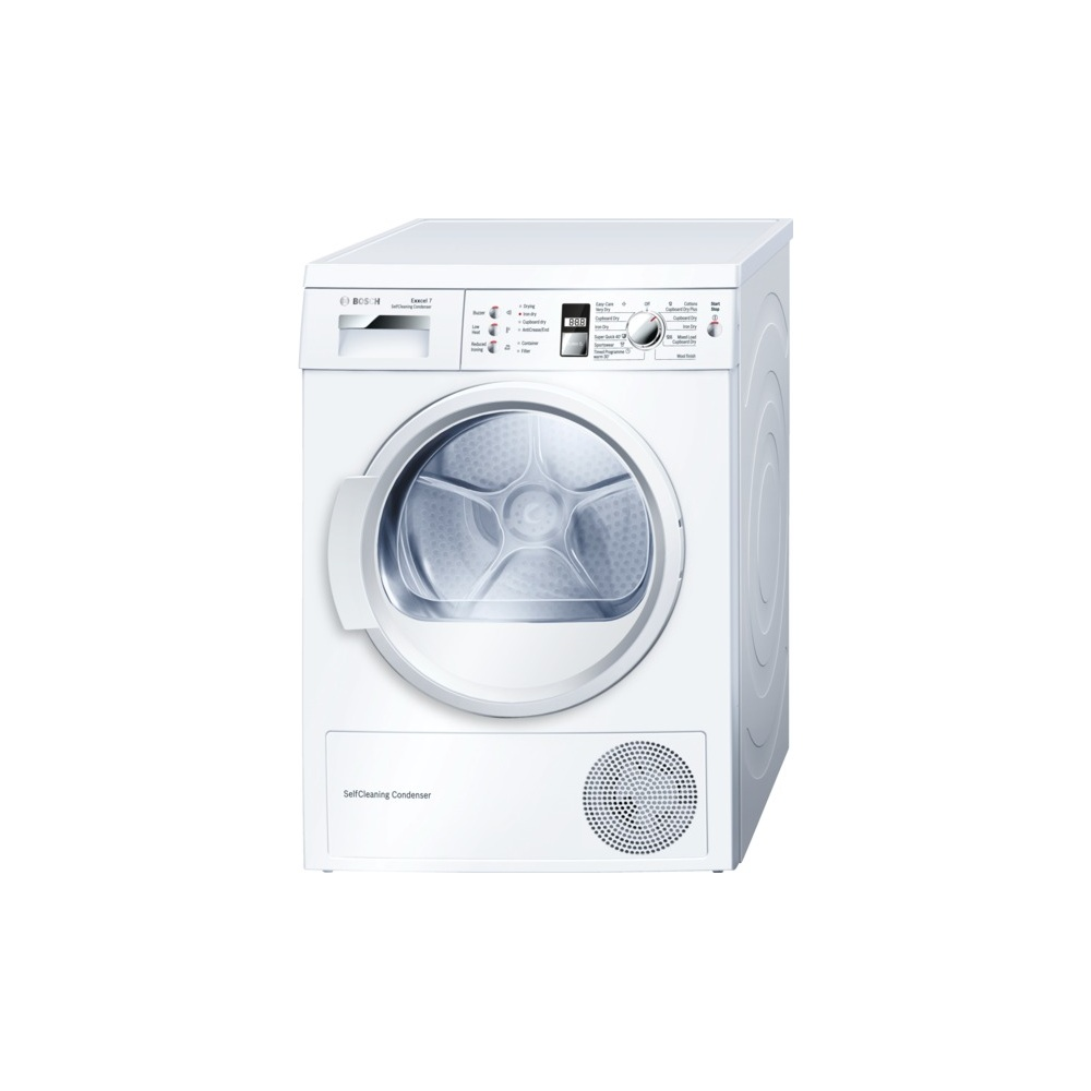 Bosch Dryer: Bosch WTW863S1GB 7kg Condenser Dryer