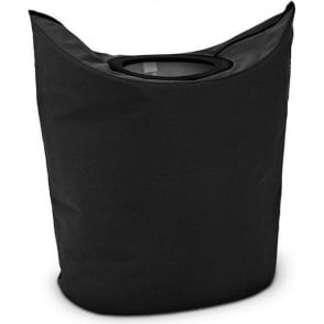 101601 Oval Laundry Bag 50L, Black