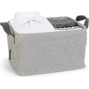 105685 Foldable Laundry Basket, Grey