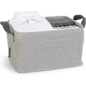 105685 Foldable Laundry Basket, Grey