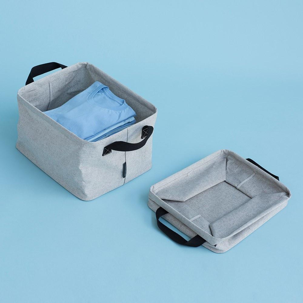 Brabantia 105685 Foldable Laundry Basket Grey