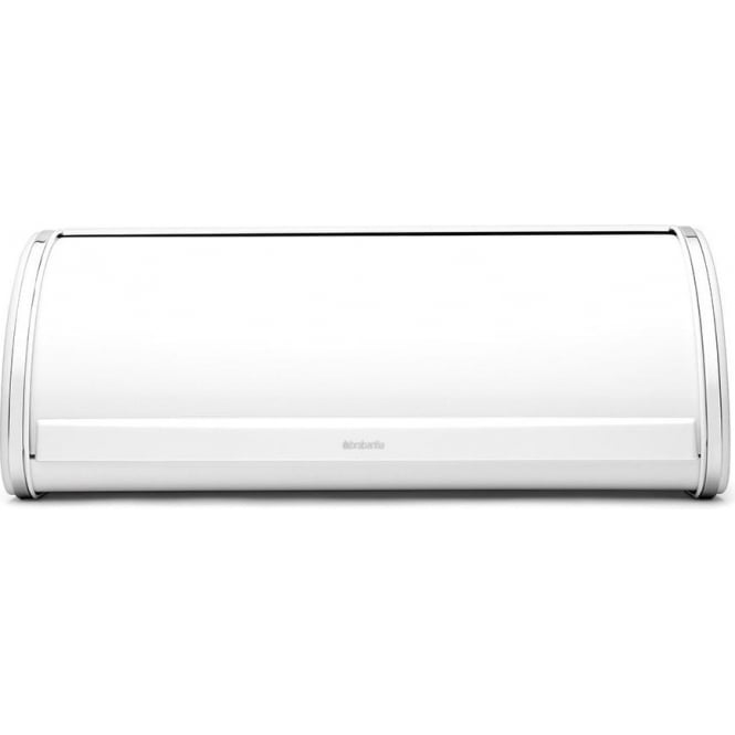 Brabantia 173325 Roll Top Bread Bin, White