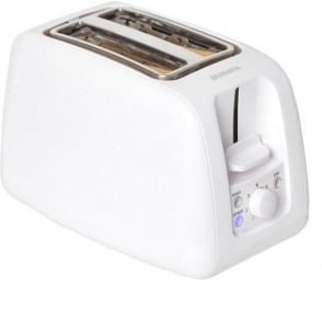 2 Slice Toaster, White