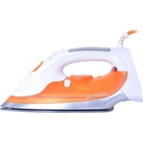 BBEL1008 Steam Iron, 2200W, Orange/White