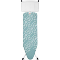 Brabantia Ironing Board B, 128x38cm, Solid Steam Gen Rest, Mandala + Free Beach Towel