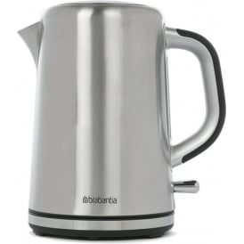 Soft Grip Kettle, Stainless Steel