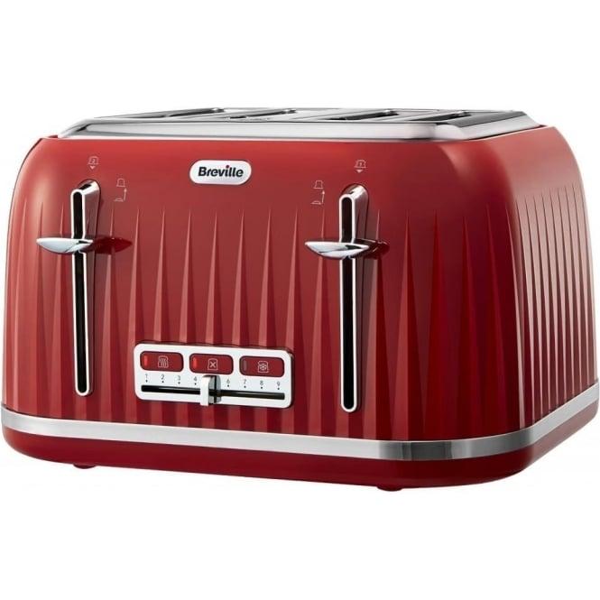 Breville Impressions 4 Slice Toaster, Red