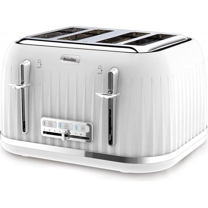 Breville Impressions 4 Slice Toaster, White