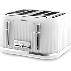 Impressions 4 Slice Toaster, White
