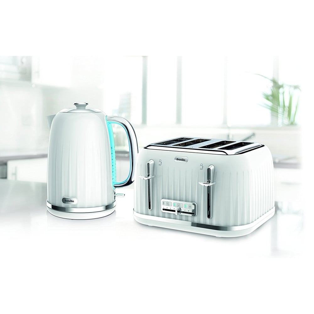 d4ae6a39a6d0 Breville Impressions 4 Slice Toaster, White - Home Appliances from ...