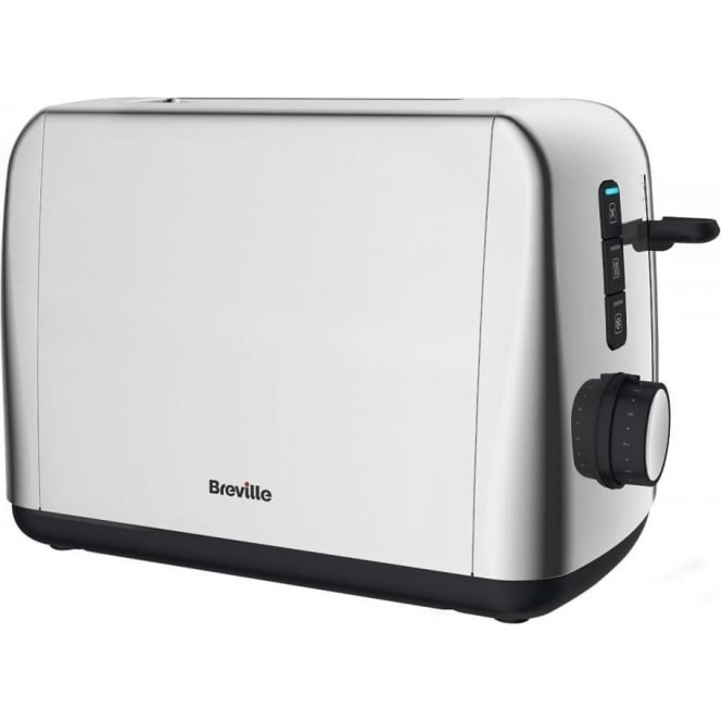 Breville Outline 2 Slice Toaster, Stainless Steel