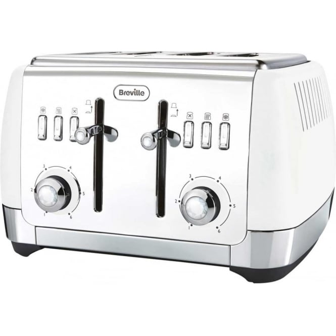 Breville Strata 4 Slice Toaster, White
