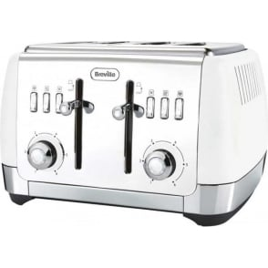 Strata 4 Slice Toaster, White