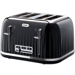 VTT476 Impressions 4 Slice Toaster, Black