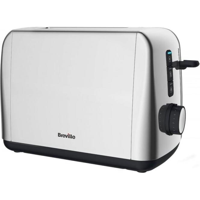 Breville VTT740 2 Slice Outline Polished Stainless Steel Toaster, Silver