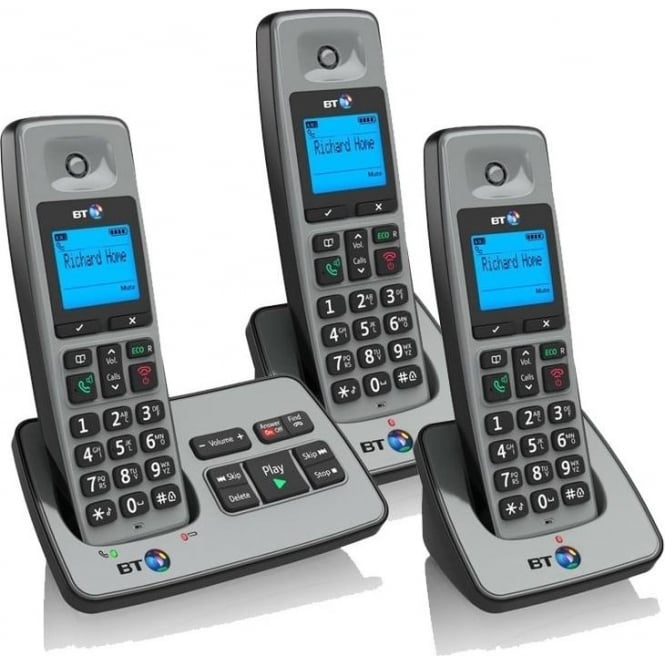BT 2500 Trio House Phone with Answer Machine