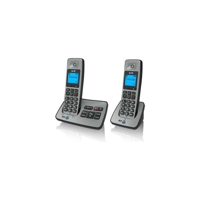 BT 2500 Twin Cordless House Phone with Answer Machine