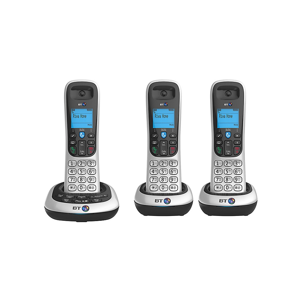 bt 2600 digital cordless phone with answering machine. Black Bedroom Furniture Sets. Home Design Ideas