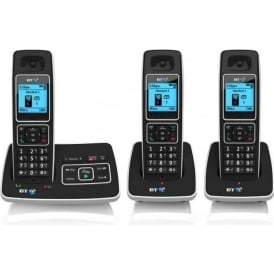 BT 6500 Trio Cordless House Phone with Answer Machine