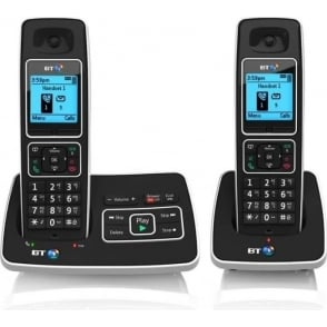 BT 6500 Twin Cordless House Phone with Answer Machine