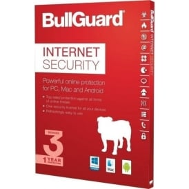 Internet Security 2017, PC/Mac/Android, 3 Users/Devices, 1 Year