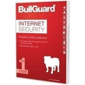 BullGuard Internet Security 2017, PC/Mac/Android, 3 Users/Devices, 1 Year