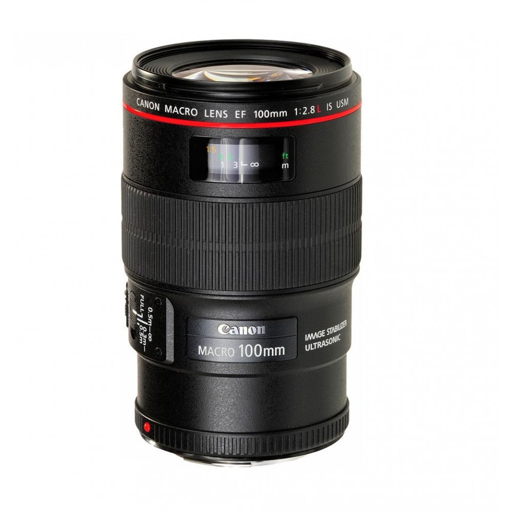 Canon EF 100mm f/2.8L Macro IS USM Lens - Next Day Deal