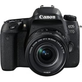 EOS 77D DSLR Camera & EF-S 18-55 mm f/4-5.6 IS STM