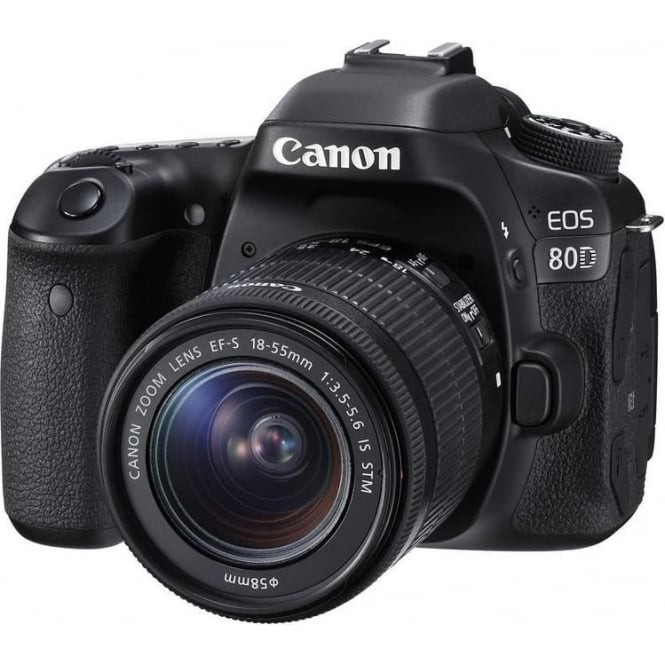Canon EOS 80D 18-55mm IS Camera