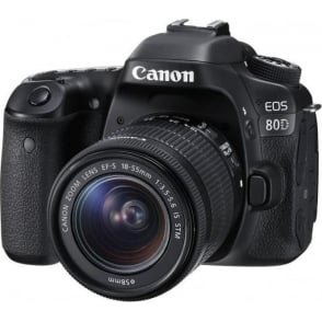 EOS 80D 18-55mm IS Camera
