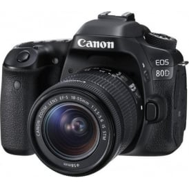 EOS 80D 18-55mm IS DSLR Camera
