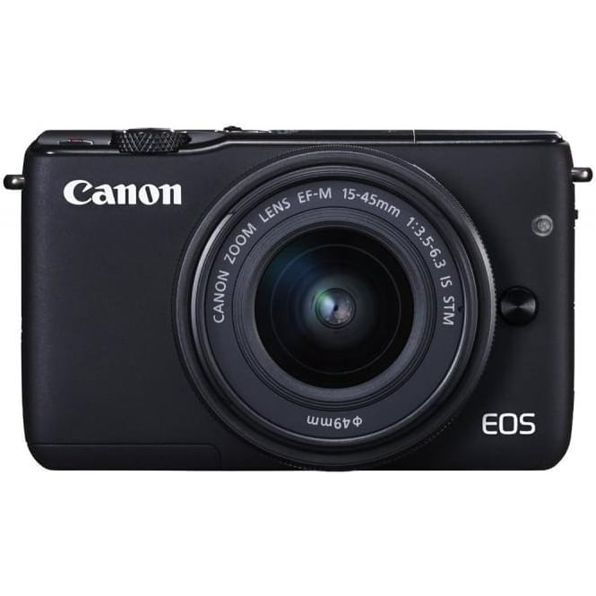 Canon EOS M10 15-45mm, Black
