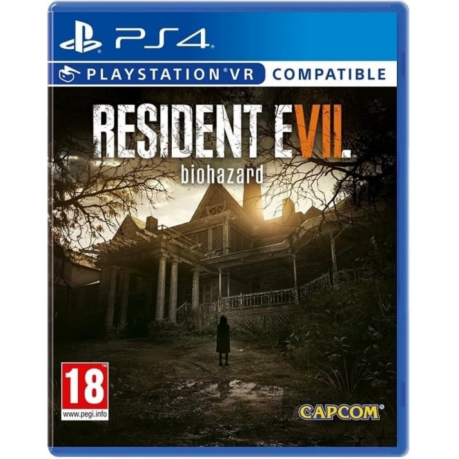 Capcom Resident Evil 7 Biohazard PS4