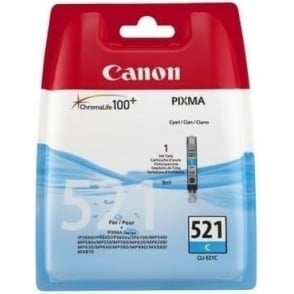 CLI-521 Cyan Ink Cartridge